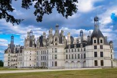 Chambord slott/Chateau de Chambord arkivbild