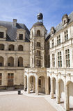 Chambord staircase Stock Images