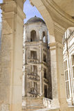 Chambord staircase Royalty Free Stock Photography