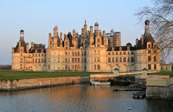 Chambord in Val de Loire Royalty Free Stock Photography