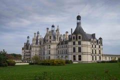 chambordchateau de france Loire Valley Royaltyfri Bild