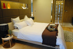 Chambre à coucher Image libre de droits