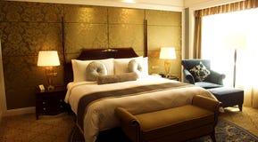 Chambre à coucher photo libre de droits