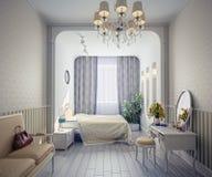 Chambre à coucher illustration libre de droits