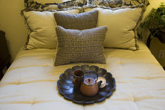 Chambre à coucher 2067 Images libres de droits