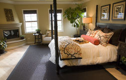 Chambre à coucher 2701 photo libre de droits