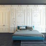 Chambre à coucher classique illustration de vecteur