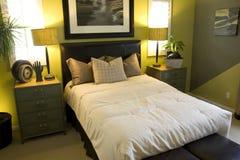Chambre à coucher confortable Image libre de droits