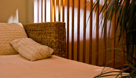 Chambre à coucher confortable photos libres de droits