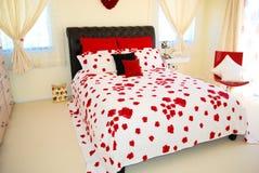 Chambre à coucher contemporaine Photo libre de droits