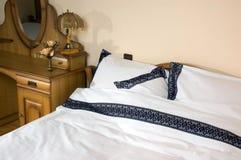 Chambre à coucher d'hôtel Photo stock