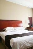 Chambre à coucher d'hôtel Image libre de droits