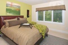 Chambre à coucher d'invité Photographie stock libre de droits