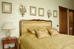 Chambre à coucher dans le point de vue Images stock