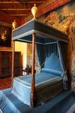 Chambre à coucher de château de Chenonceau Photos libres de droits