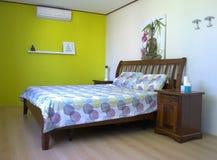 Chambre à coucher de conception intérieure Photos stock