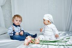 Chambre à coucher de jeu d'enfants Photographie stock libre de droits