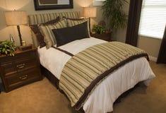 Chambre à coucher de luxe de créateur Photo stock
