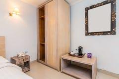 Chambre à coucher de luxe superbe d'hôtel images libres de droits