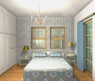 Chambre à coucher de mélange et de match Image stock