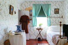 Chambre à coucher de vintage Photographie stock libre de droits