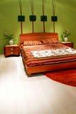 Chambre à coucher florale Photos stock