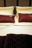 Chambre à coucher - intérieurs à la maison Images libres de droits