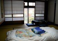Chambre à coucher japonaise Image stock