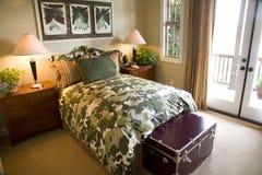 Chambre à coucher moderne Images libres de droits