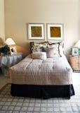 Chambre à coucher moderne photographie stock libre de droits