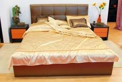 Chambre à coucher moderne neuve Photos libres de droits