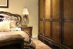 Chambre à coucher nostalgique photographie stock libre de droits
