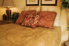 Chambre à coucher occidentale de ranch Photographie stock libre de droits