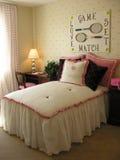 Chambre à coucher orientée de tennis Photographie stock
