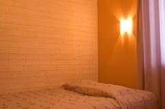 Chambre à coucher paisible photographie stock libre de droits