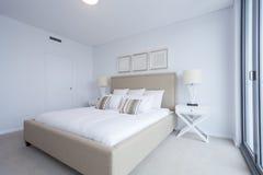 Chambre à coucher principale Images libres de droits