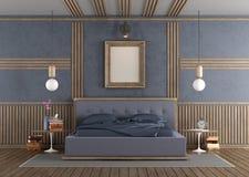 Chambre à coucher principale classique Images libres de droits