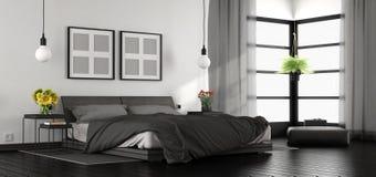 Chambre à coucher principale moderne Photographie stock libre de droits