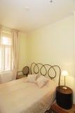 Chambre à coucher romantique Photos stock