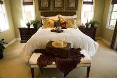 Chambre à coucher spacieuse Images libres de droits