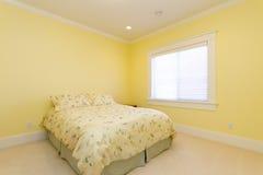 Chambre à coucher vide Image stock