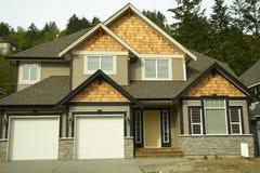Maison De Nouvelle Maison à Vendre Canada Photo stock - Image du ...