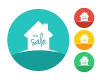 Chambre à vendre le concept Images stock