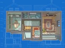 Chambre. illustration de vecteur