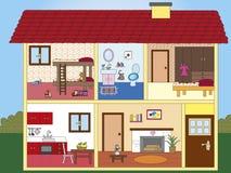 Chambre illustration stock