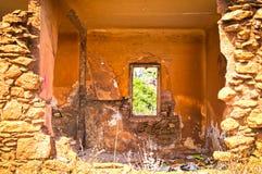 Chambre abandonnée Images stock