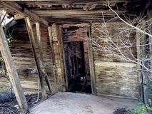 Chambre abandonnée Image libre de droits