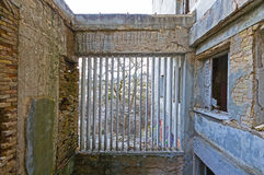 Chambre abandonnée photographie stock