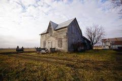 Chambre abandonnée de ferme Image libre de droits