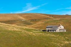 Chambre abandonnée de ferme - Lessinia Italie Image libre de droits